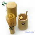 2017 Convenient Sri Lanka Travel bamboo Matcha Accessories Tea Set With Canister