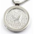 latest Design 316L Stainless Steel Locket Pendant with Coin Inside