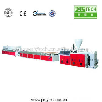 PVC WPC Profile Making Machine/PVC Plastic Profile Extrusion Machine / Window Door Plastic Profile Machine