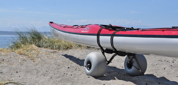 Kayak Cart with Balloon Wheels (2)