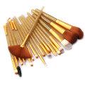 18 Piece Crystal Handle Makeup Brushes Set