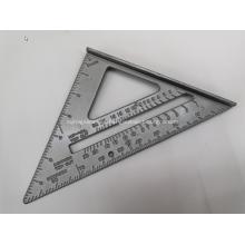 Escala de medida de nivel de aluminio de varias formas