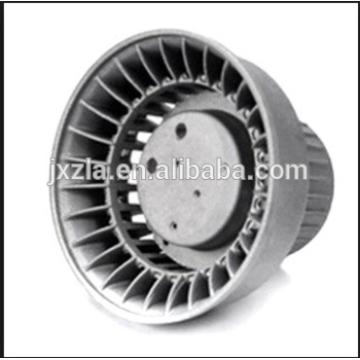 Die casting parts aluminum led heat housing