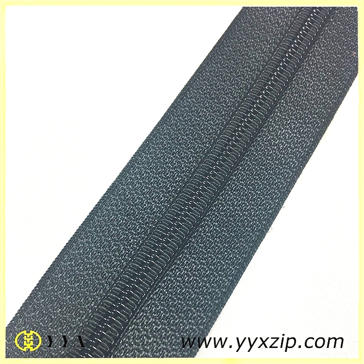 Quality woven spiral continuous zipper