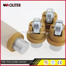 одноразовые иммерсионных жидкостей алюминиевый Литейный сэмплер инструмент для расплавленной стали