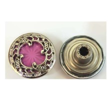 Women Custom Coat Metal Hollow Buttons for Sale