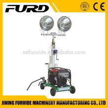 Мини-передвижная промышленная переносная осветительная вышка с генератором HONDA (FZM-1000A)