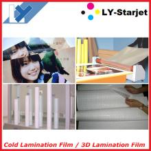 Filme de laminação a frio, filme de proteção, filme de laminação em 3D