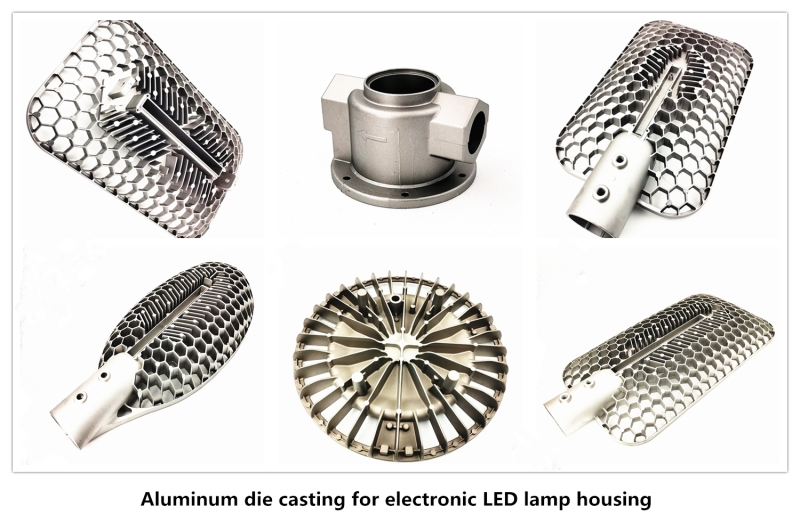 Aluminum Die Cast LED Parts