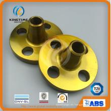 Bridas soldadas del cuello de acero de carbono forjado 150lbs (KT0391)