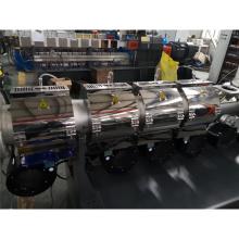 Plastic granulator extruder machine