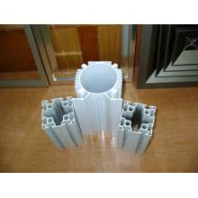 Perfil de alumínio de isolamento térmico de grão de madeira para janela (HF015)