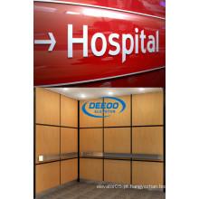 Elevador estável do hospital do passageiro da capacidade grande