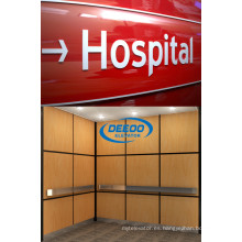 Elevador de hospital de pasajeros de gran capacidad y funcionamiento estable