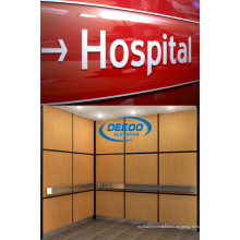 Stabiler laufender großer Kapazitäts-Passagier-Krankenhaus-Aufzug