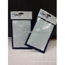 Bolsos de embalaje de la carcasa trasera Samsung Galaxy Note 2 / accesorios para el teléfono móvil bolsa con ventana transparente