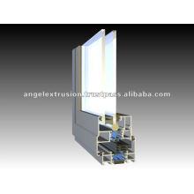 Perfil de alumínio para janelas de batente
