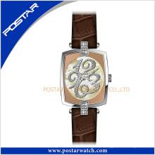 Mais recente relógio de design especial da Vogue Lady com movimento suíço de quartzo