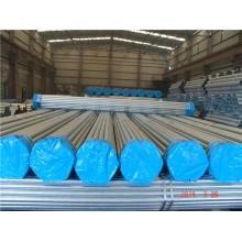 Alta qualidade ASTM A53 A795 En10255 BS1387 As1074 Tubos de aço UL FM