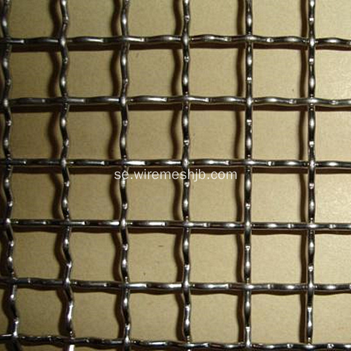 Crimped Woven Wire Mesh Screen