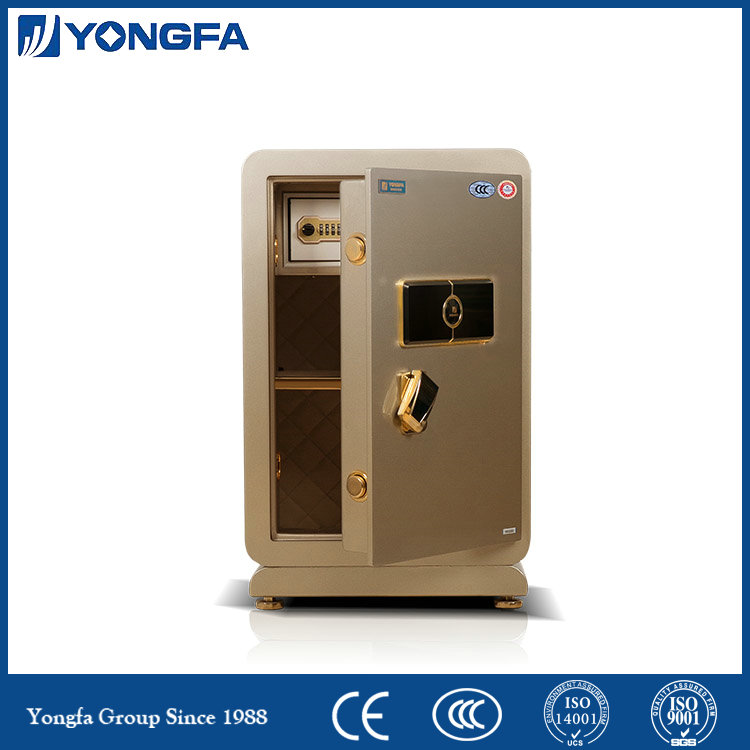 Electronic fingerprint safe