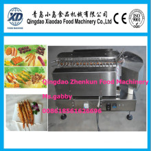 Máquina de churrasqueira rotativa comercial Kebob