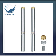 "3"" Electric Borehole Brass Deep Well Submersible Pump Cheap Price 3SD S. S Water Pump for Indian"