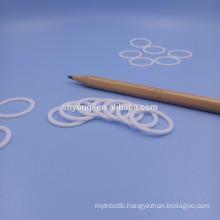 White rubber gasket PTFE /Teflon Seals gaskets flat round washer on hot sale