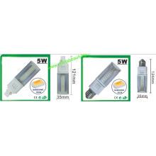 3 ans de garantie 5W SMD G24 LED Pl lumière