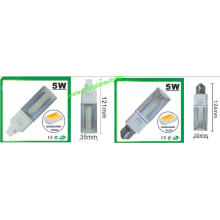 3 Years Warranty 5W SMD G24 LED Pl Light