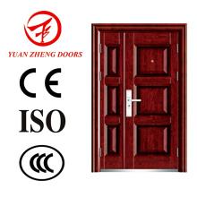Yuanzheng Fabricant Steel Double Doors