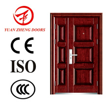 Yuanzheng Manufacturer Steel Double Doors