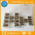 Buse d'électrode de coupe de gaz p80 1.7mm