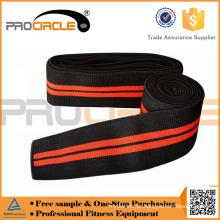 Gym Training einstellbare elastische Knie Wraps unterstützt