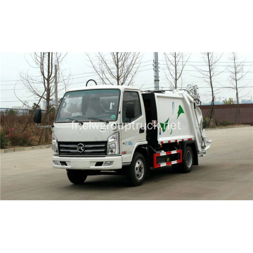 KAMA 75KW / 102hp compact camion à ordures