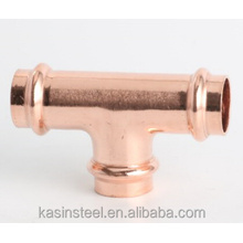 Copper M profile press pipe fitting plumbing fitting