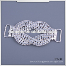 Fashion crystal rhinestone buckle for bikini and swimwear