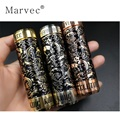 Skeleton King Kong Carved Mechanical Mod Vape