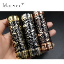 Best quality and factory for Stable Wood Vape Skeleton King Kong Carved Mechanical Mod Vape export to Poland Importers