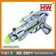 Горячая продавая пластичная игрушка пушки 28CM B / O голоса