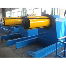 Velocidad de trabajo 40 m / min Decoiler hidráulico de 20 toneladas