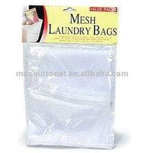 Saco de lavagem / saco de roupa / saco de lavagem de malha / saco de malha de poliéster