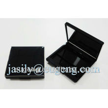 Pressed eyeshadow case with mirror