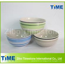 Lavado a mano de cerámica Gres Tazón