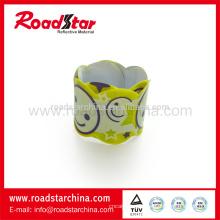Impresos especiales reflectantes bofetada wrap pulsera