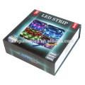 Kingunion Nuevo Blister paquete RGB5050 LED luz de tira flexible