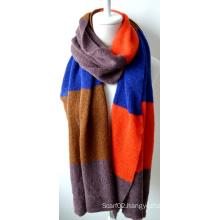 Acrylic Knitted Shawl (12-BR201812-11)