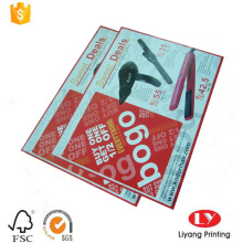 Custom printed adhesive paper sticker printing