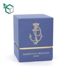 Línea de onda creativa inserción de satén abierto perfume barato servicio de personalización logo marca privada caja de perfume cosmético
