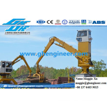 Garbage Scrap Loading Grab Crane